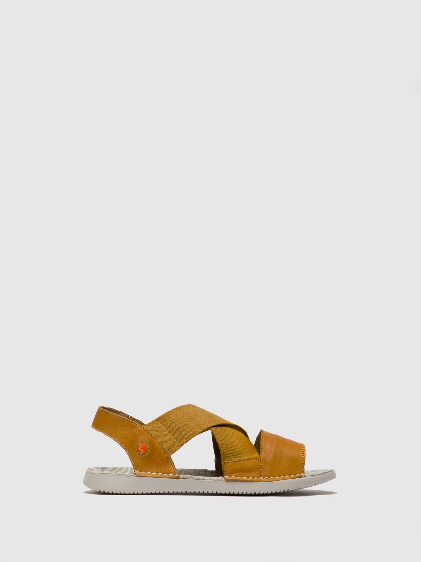 Softinos Crossover Sandals TEUL580SOF Yellow