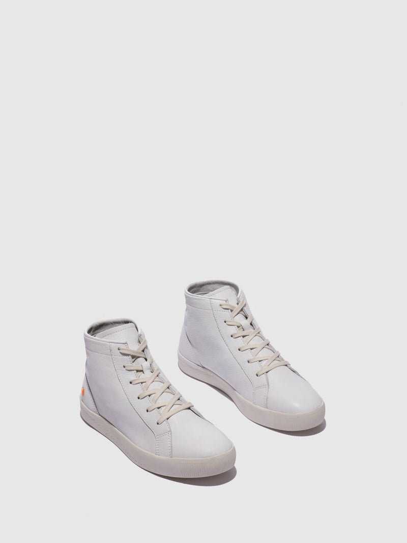 Lace-up Ankle Boots SALI583SOF White
