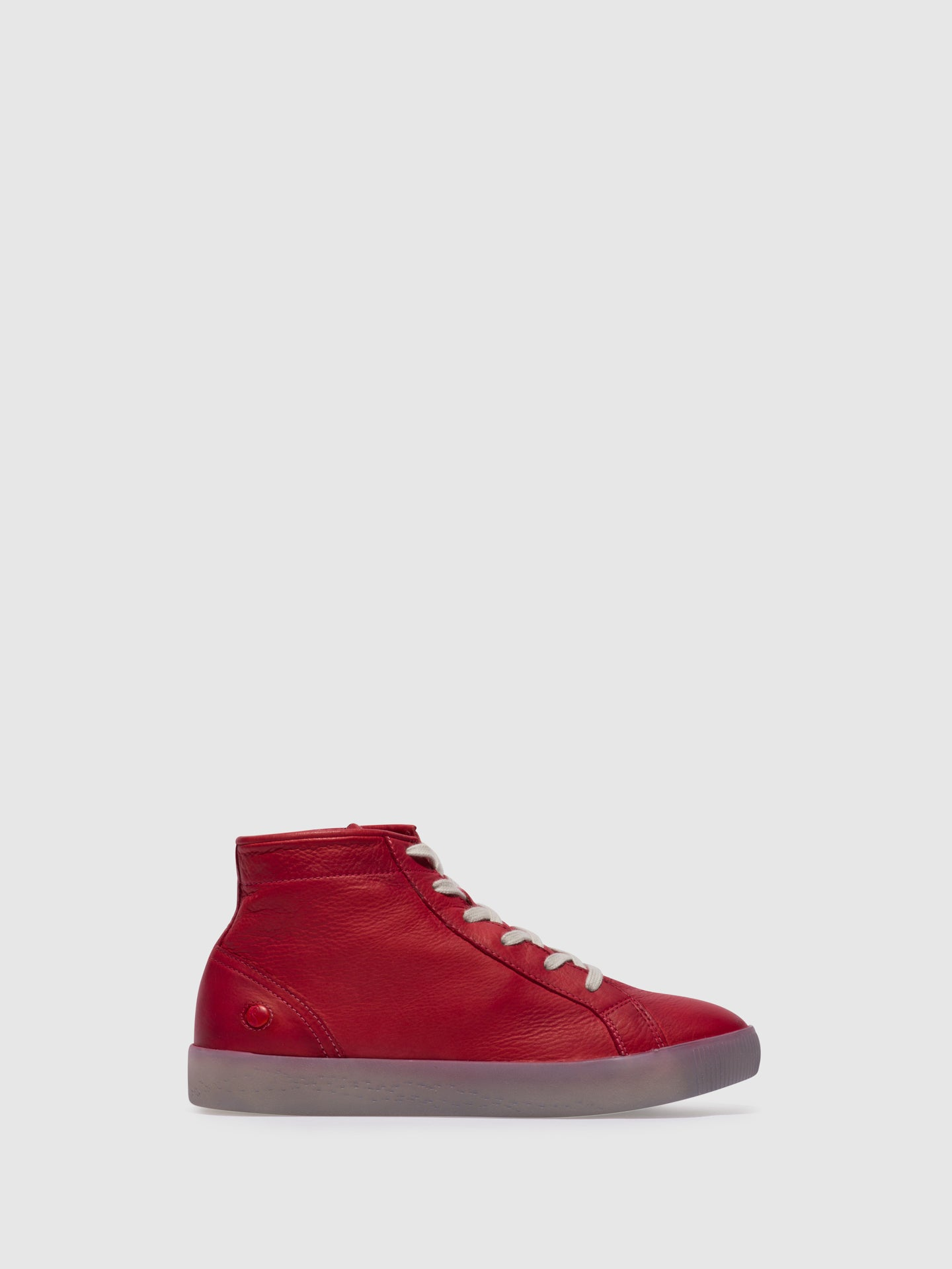 Softinos Lace-up Ankle Boots SALI583SOF Red