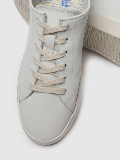 Softinos Lace-up Trainers SADY584SOF White