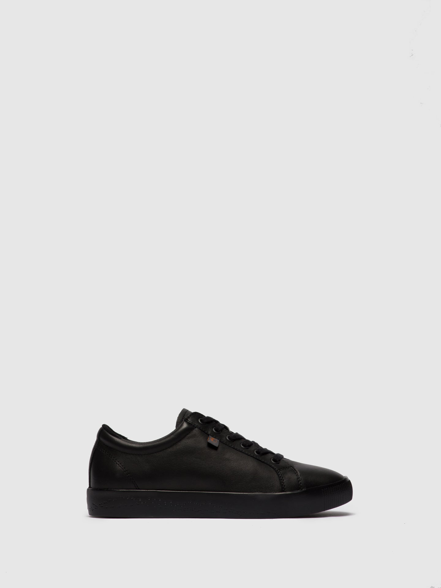 Softinos Lace-up Trainers SURY585SOF BLACK