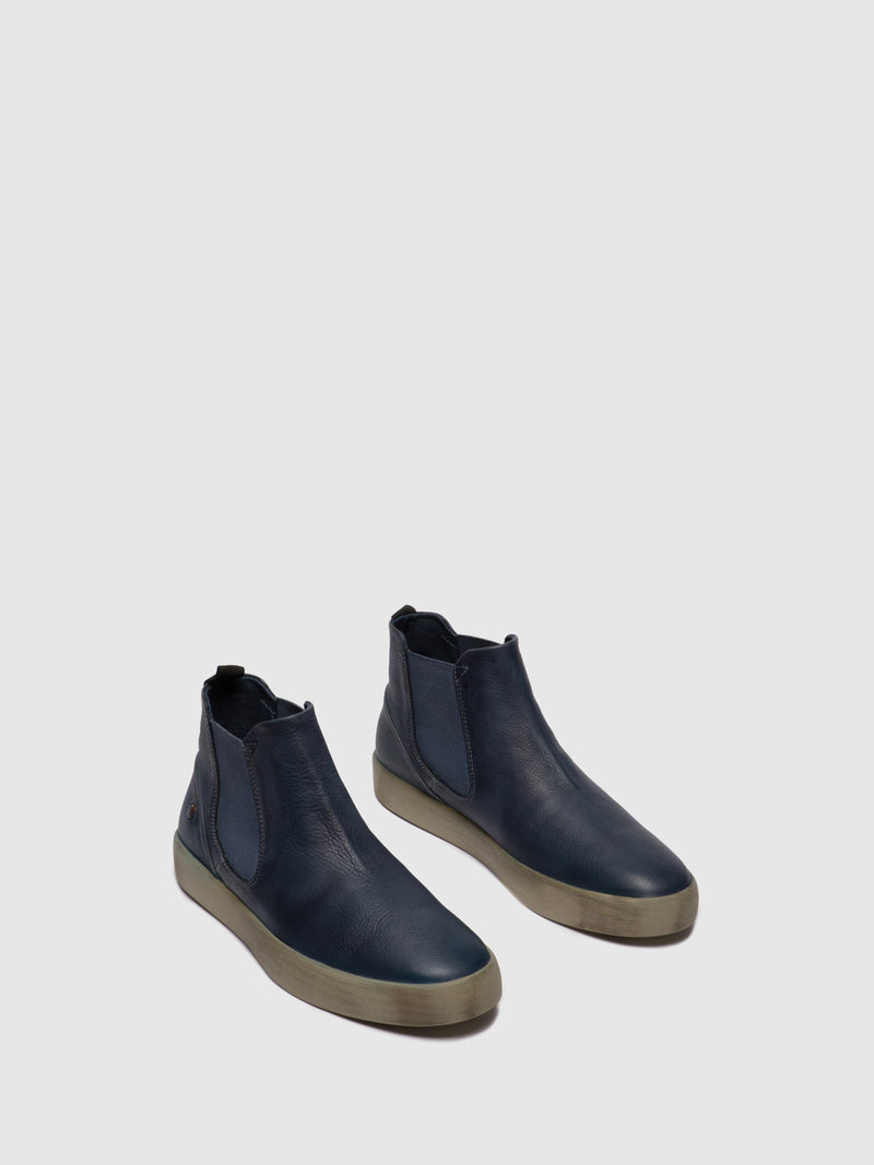 Softinos Chelsea Ankle Boots RYKE611SOF NAVY