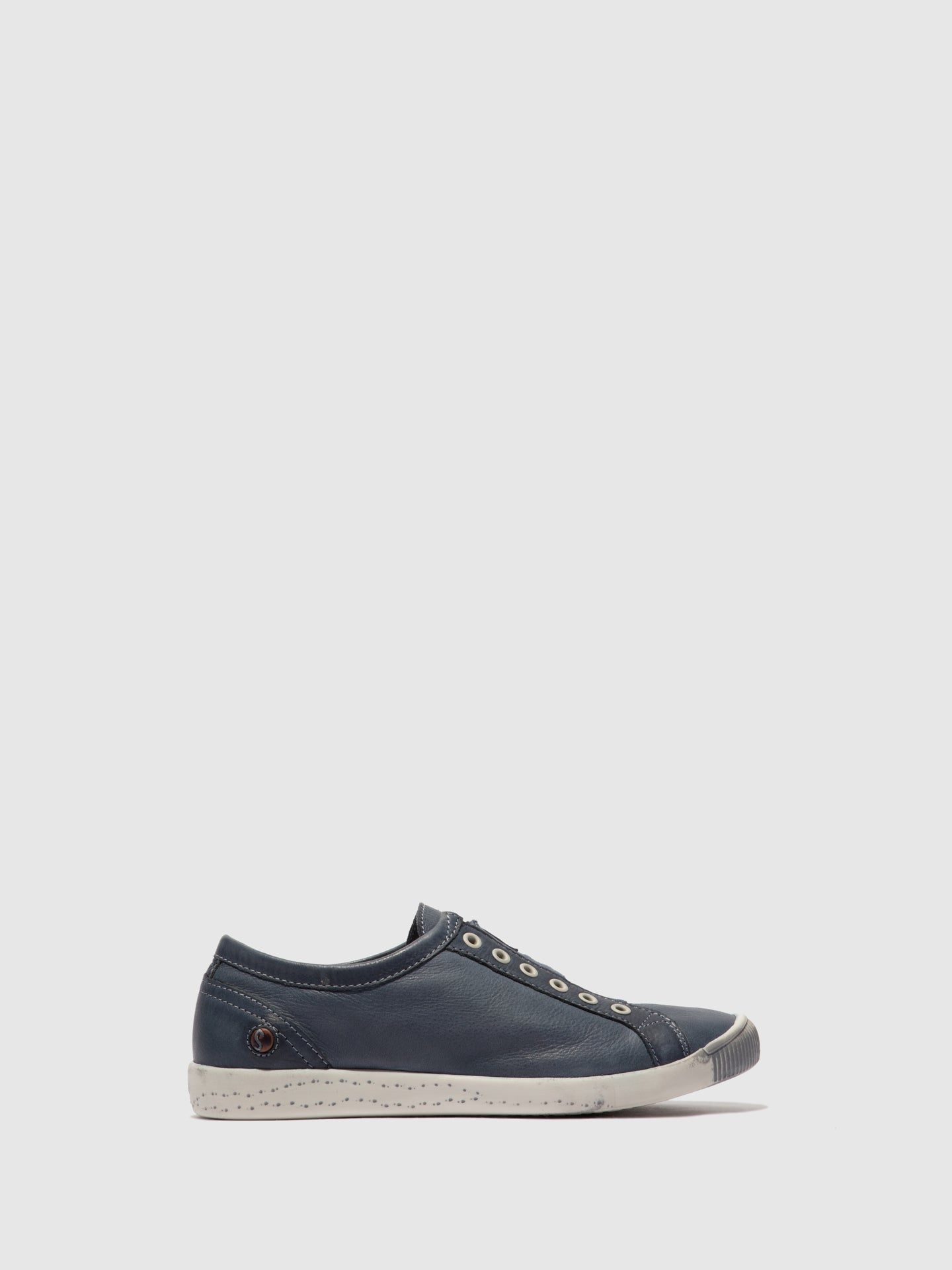 Softinos Slip-on Trainers IRIT637SOF WASHED NAVY
