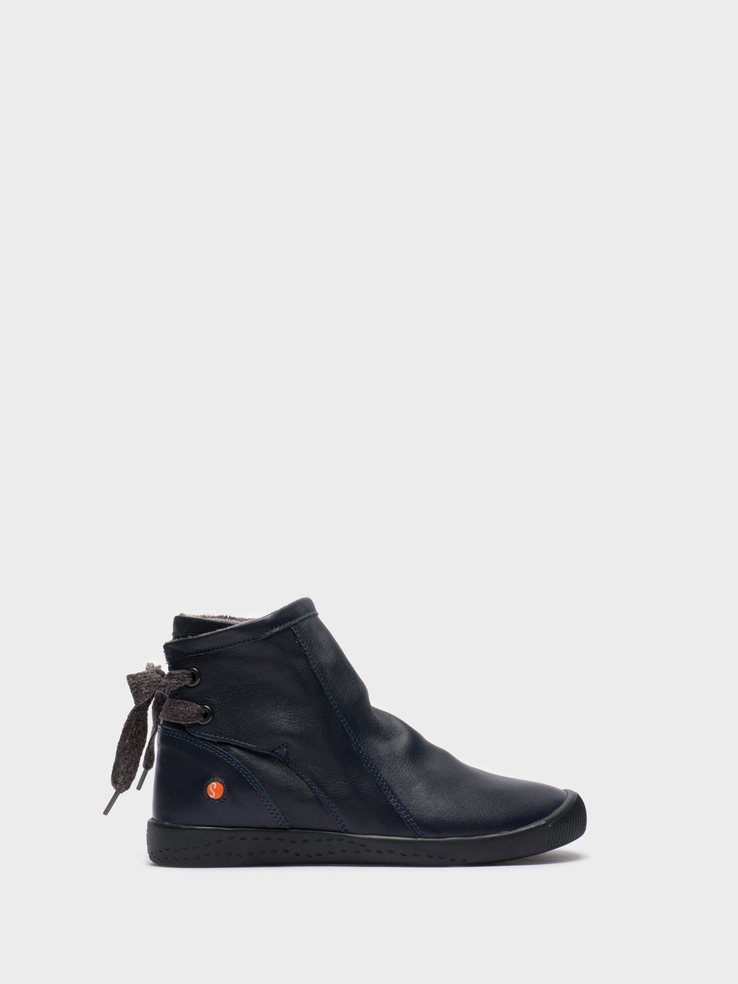 SOFTINOS Navy Sock Ankle Boots
