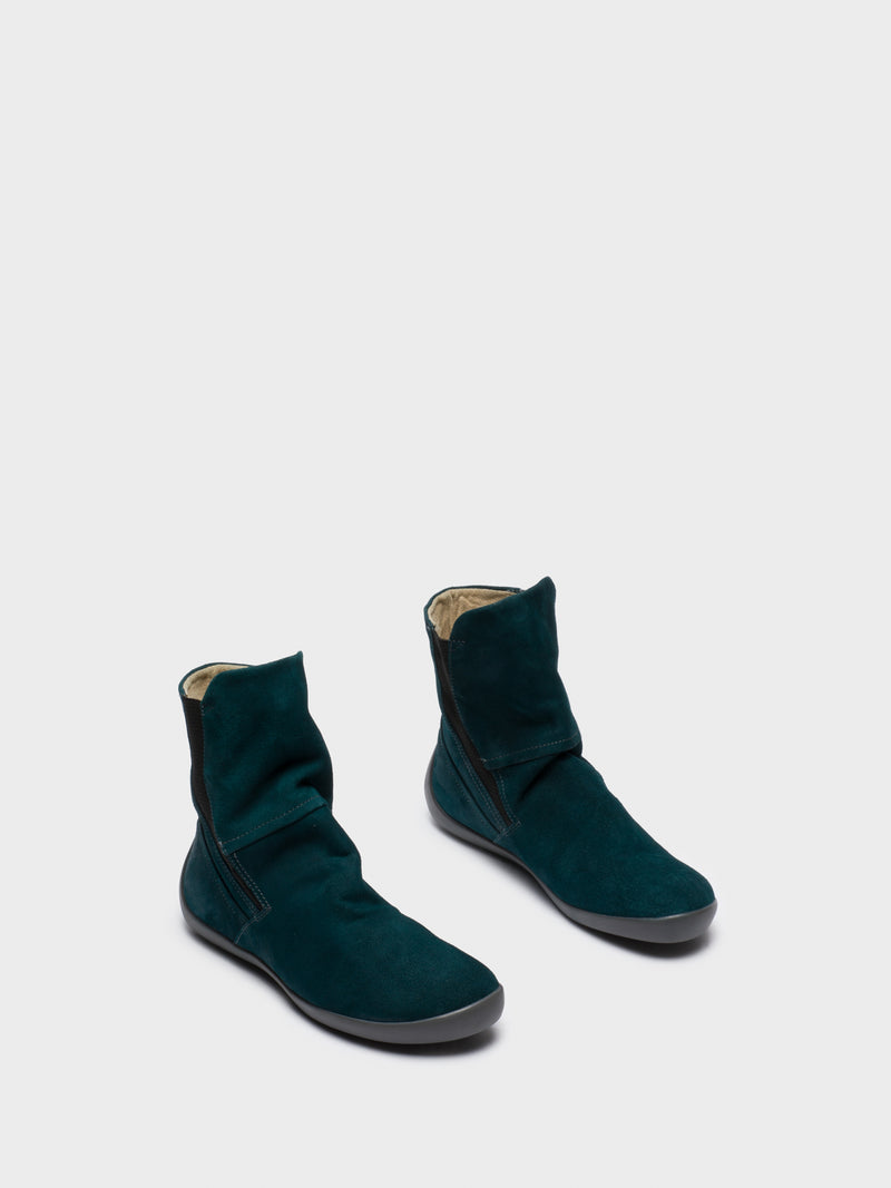 DarkGreen Sock Boots