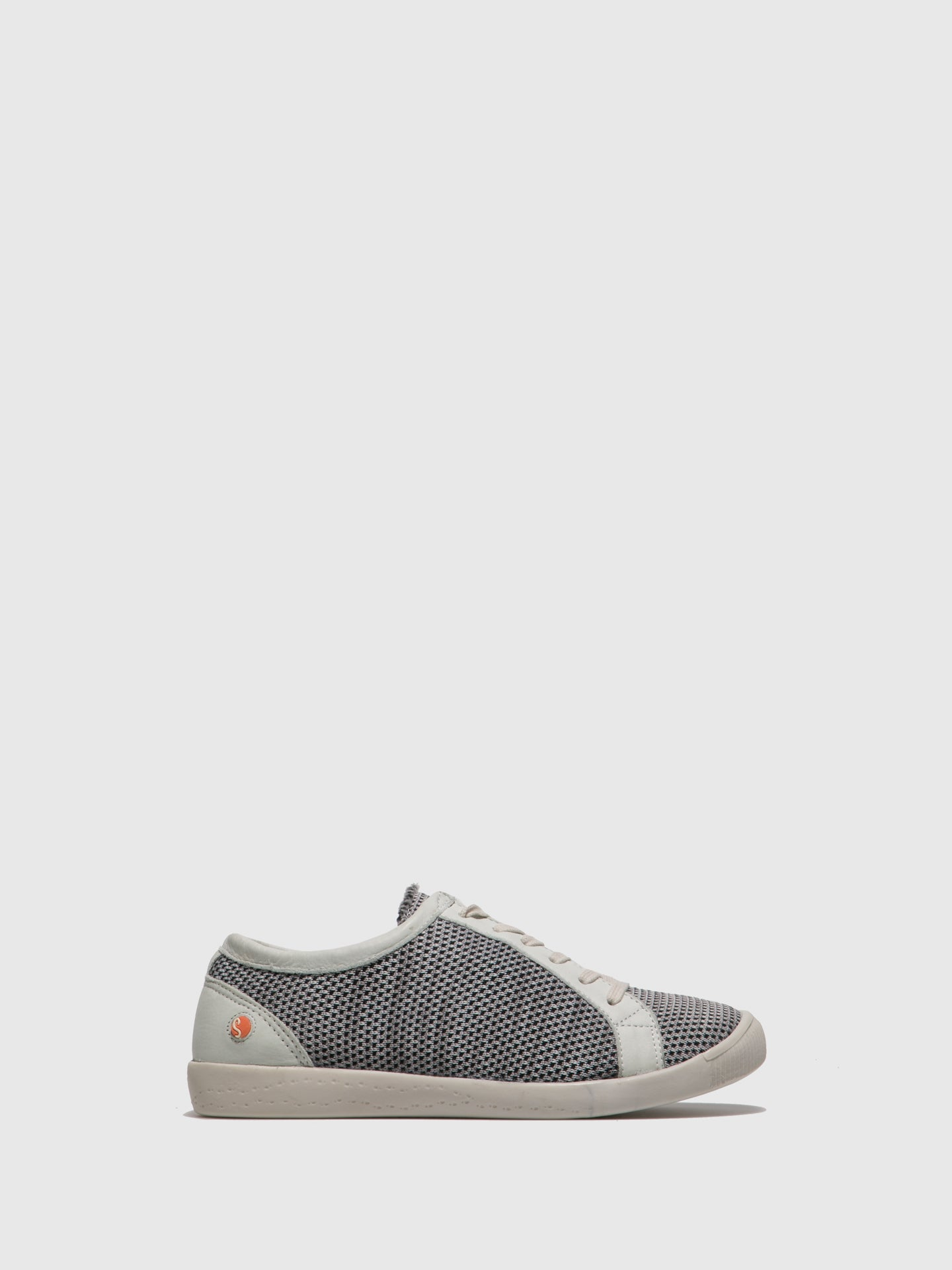 SOFTINOS Lace-up Trainers ICA388SOF Grey/White