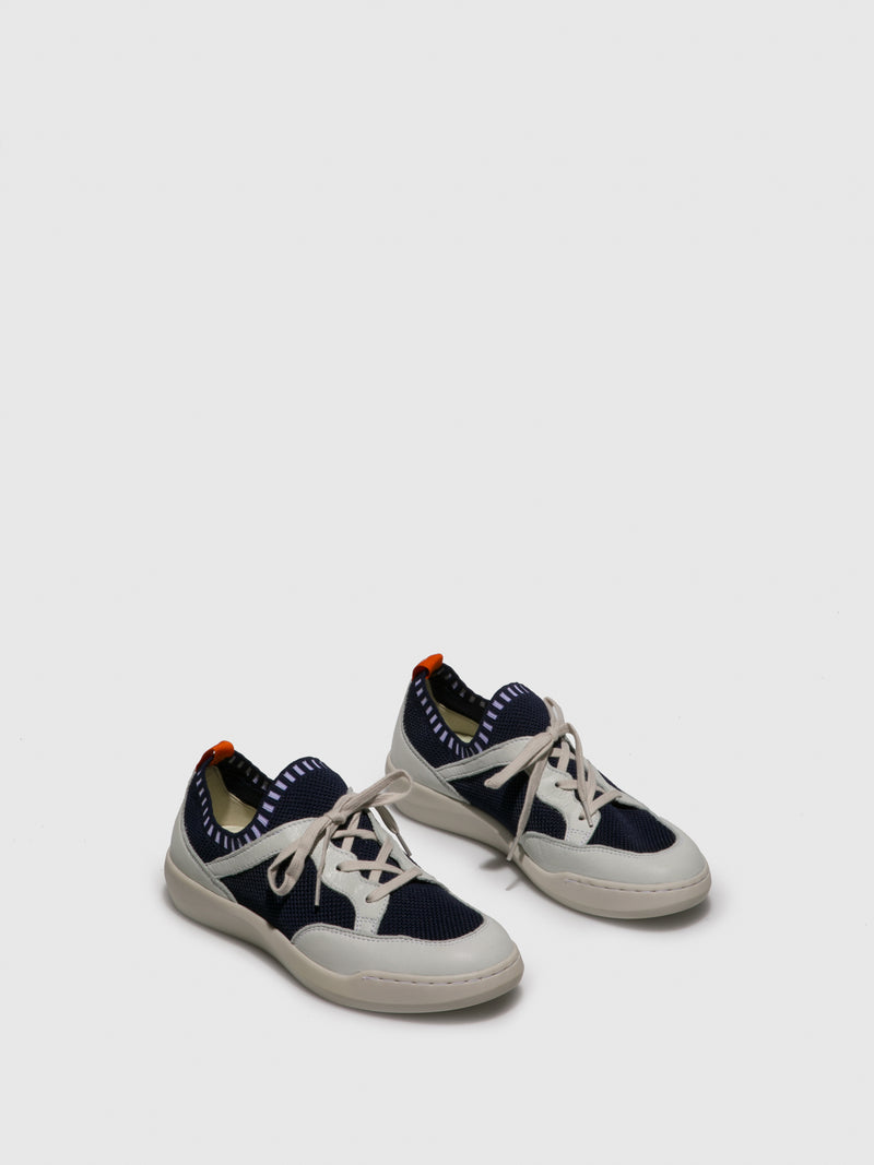 Lace-up Trainers BEAE565SOF Blue White