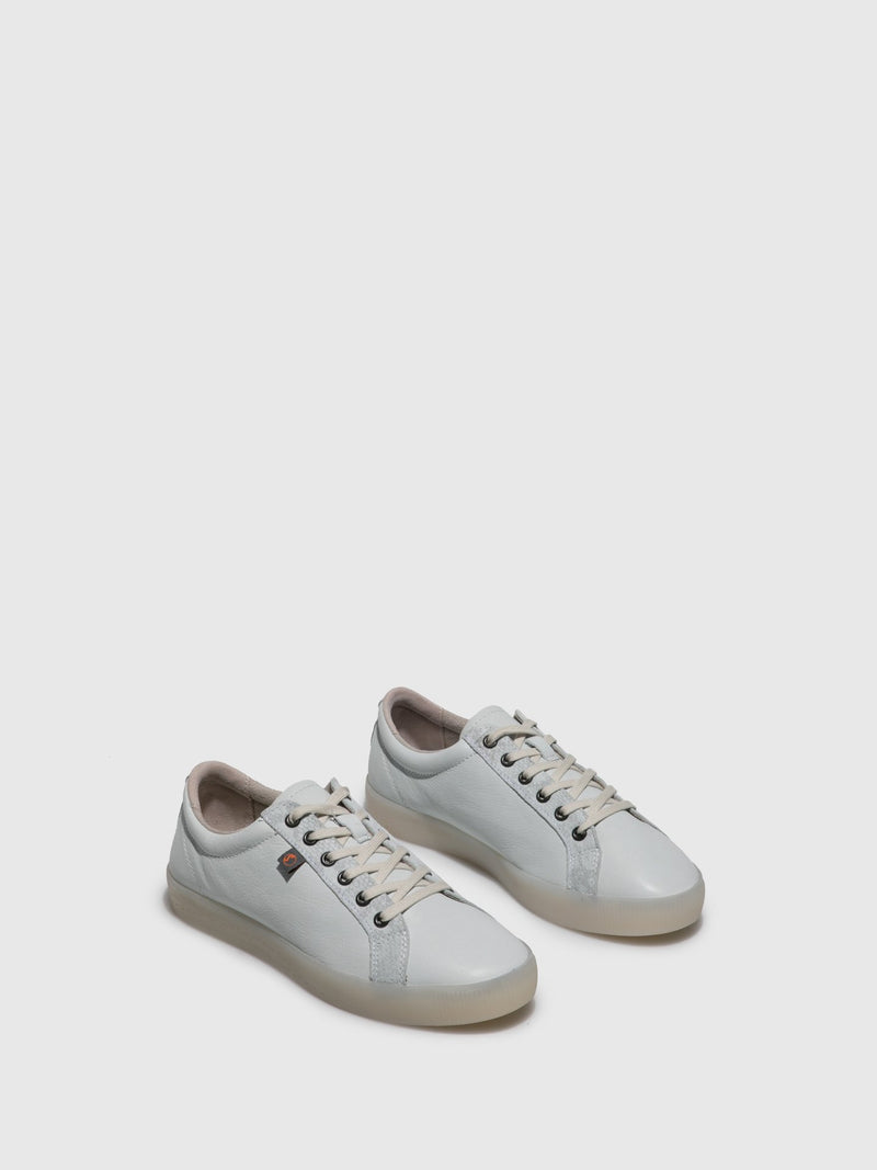 Lace-up Trainers SURY585SOF White/LightGreySnake