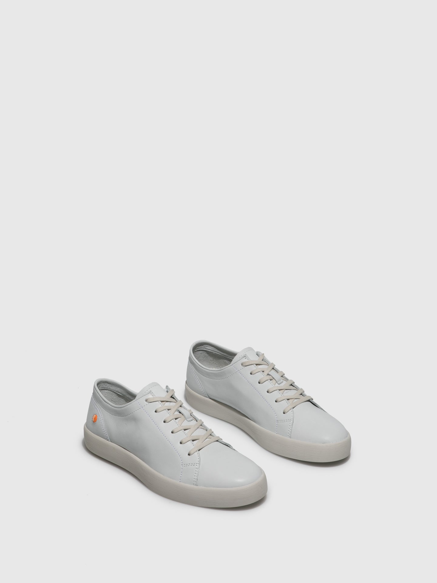 Softinos Lace-up Trainers ROSS594SOF White