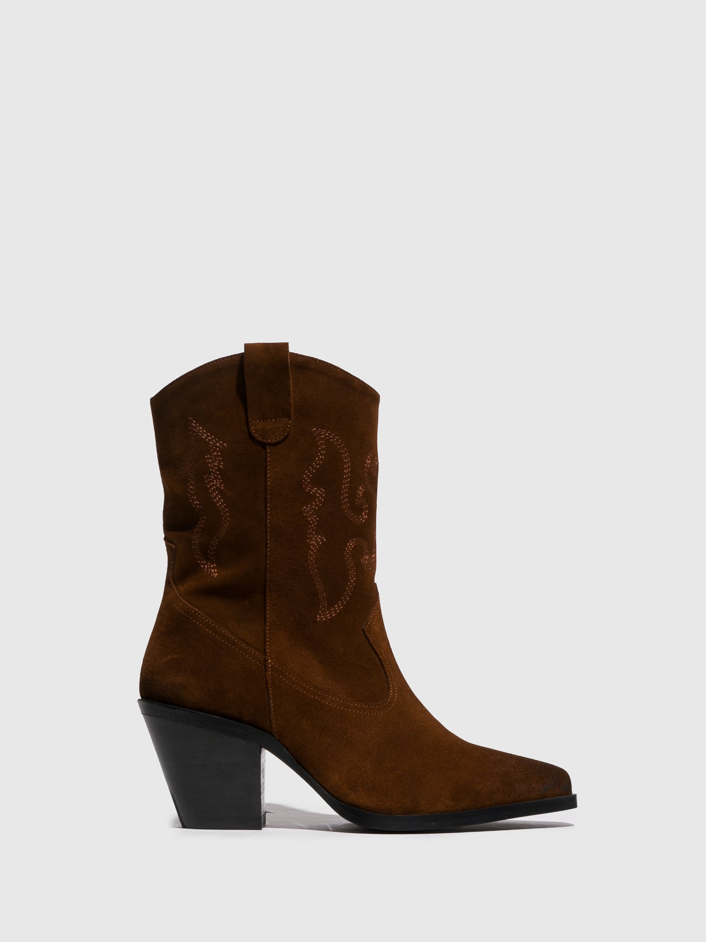 Sofia Costa Camel Zip Up Boots