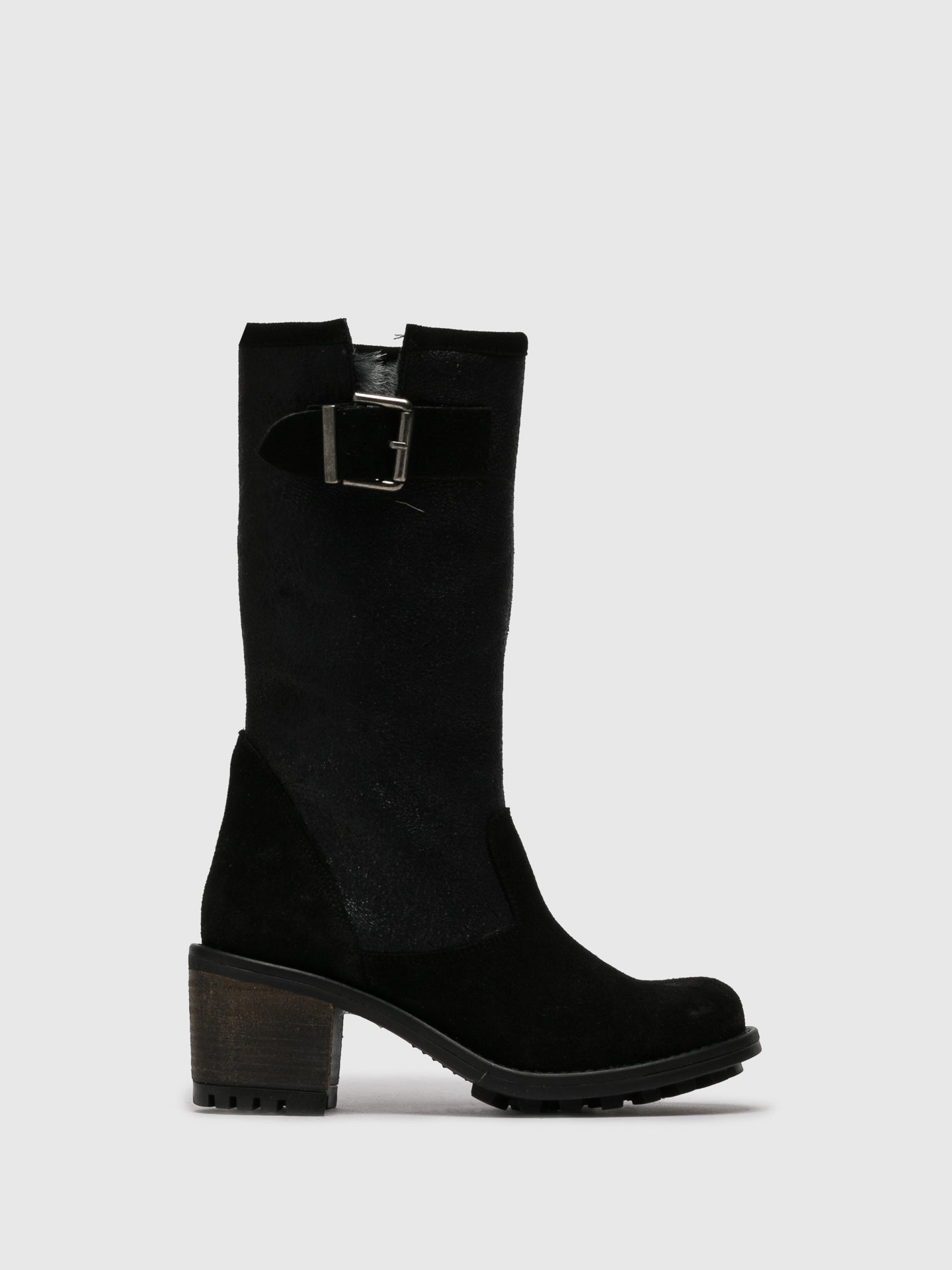 Sotoalto Black Buckle Boots