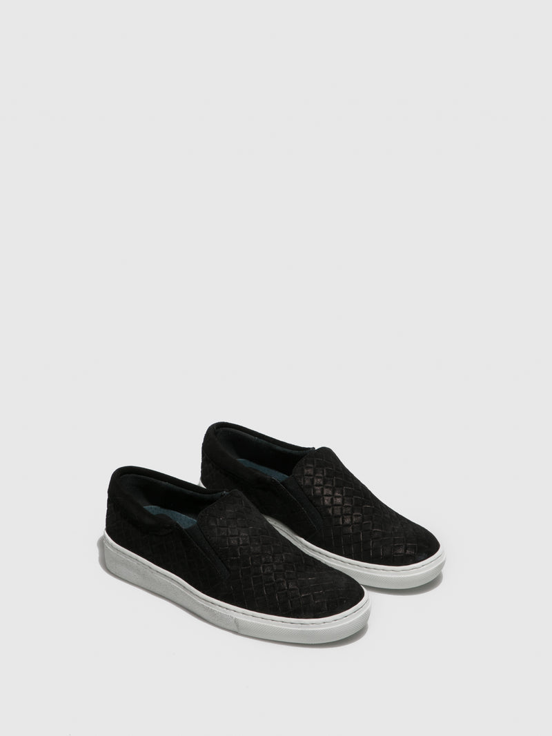 Sotoalto Black Slip-on Trainers