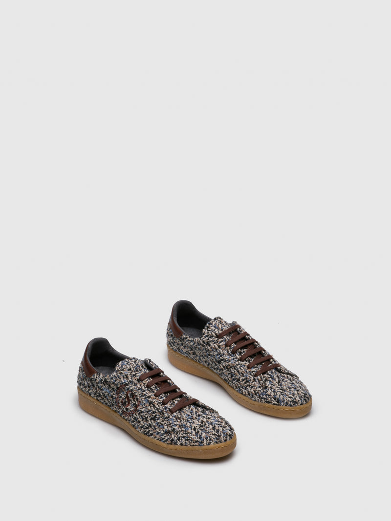 Sotoalto SaddleBrown Lace-up Trainers