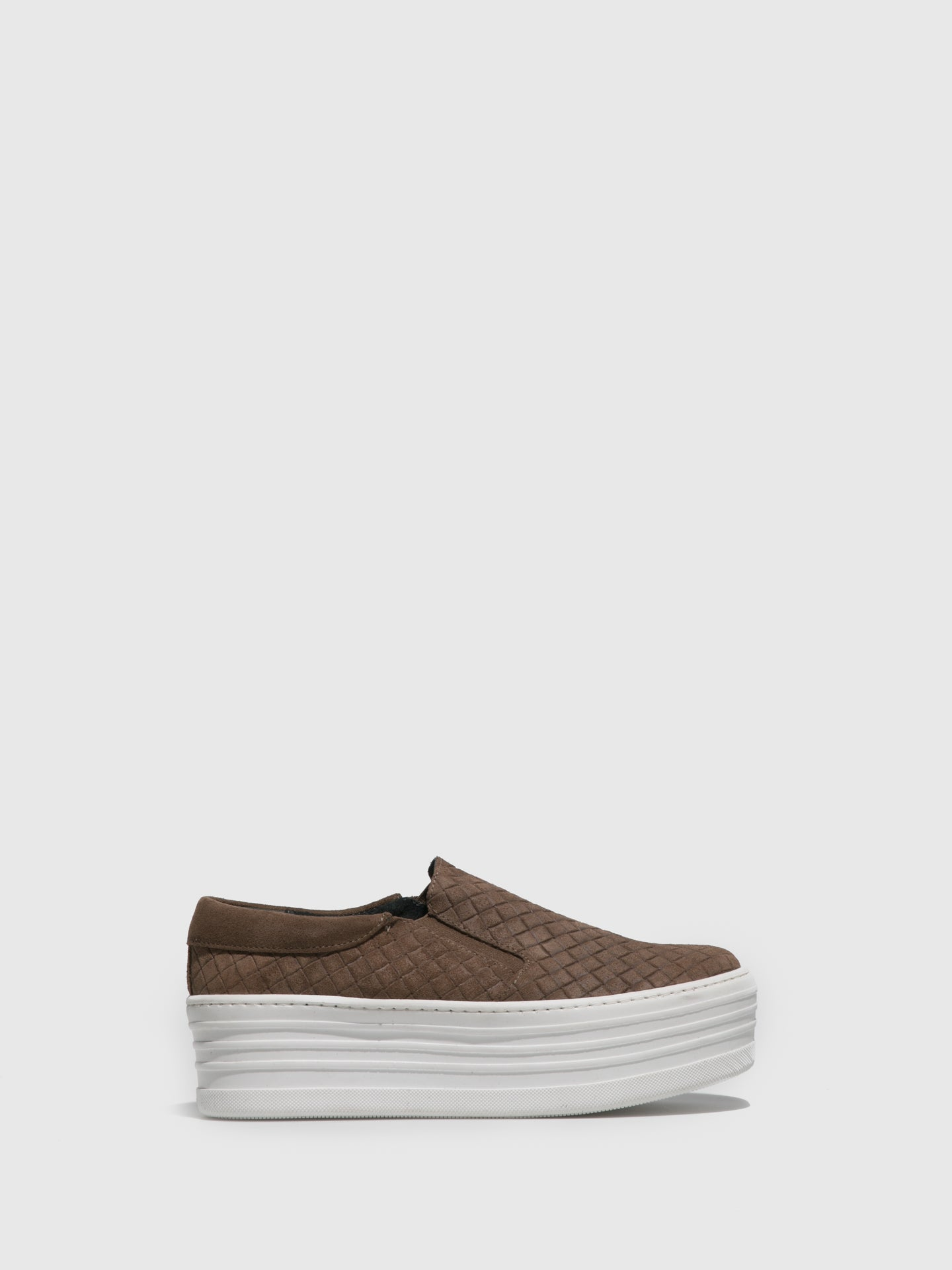 Sotoalto Taupe Slip-on Trainers