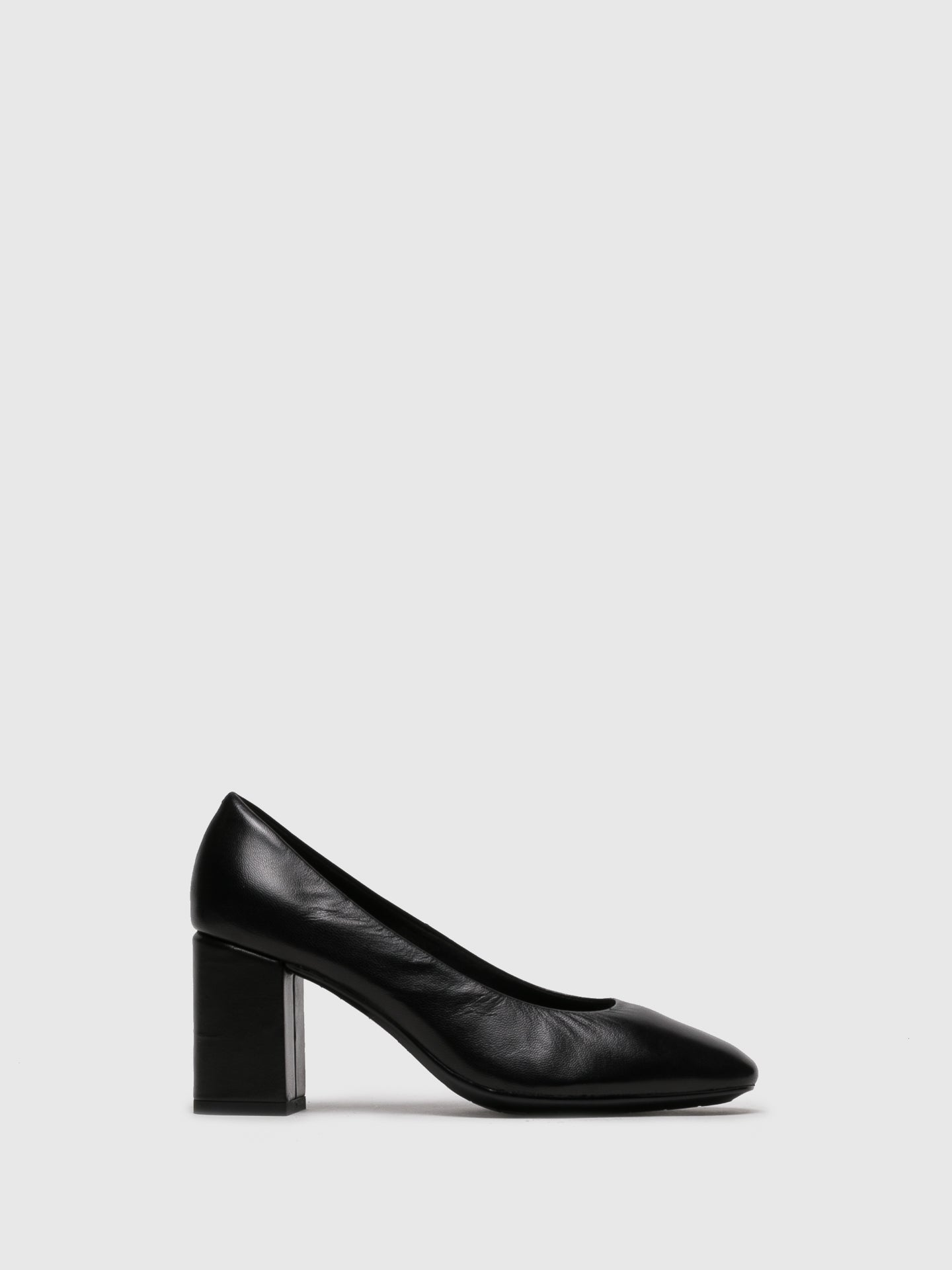 The Flexx Black Classic Pumps