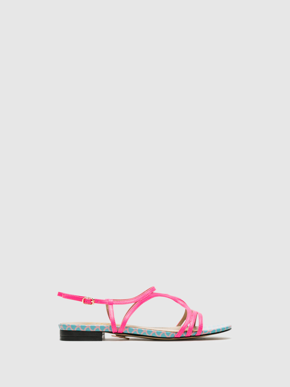 Yull Multicolor Strappy Sandals