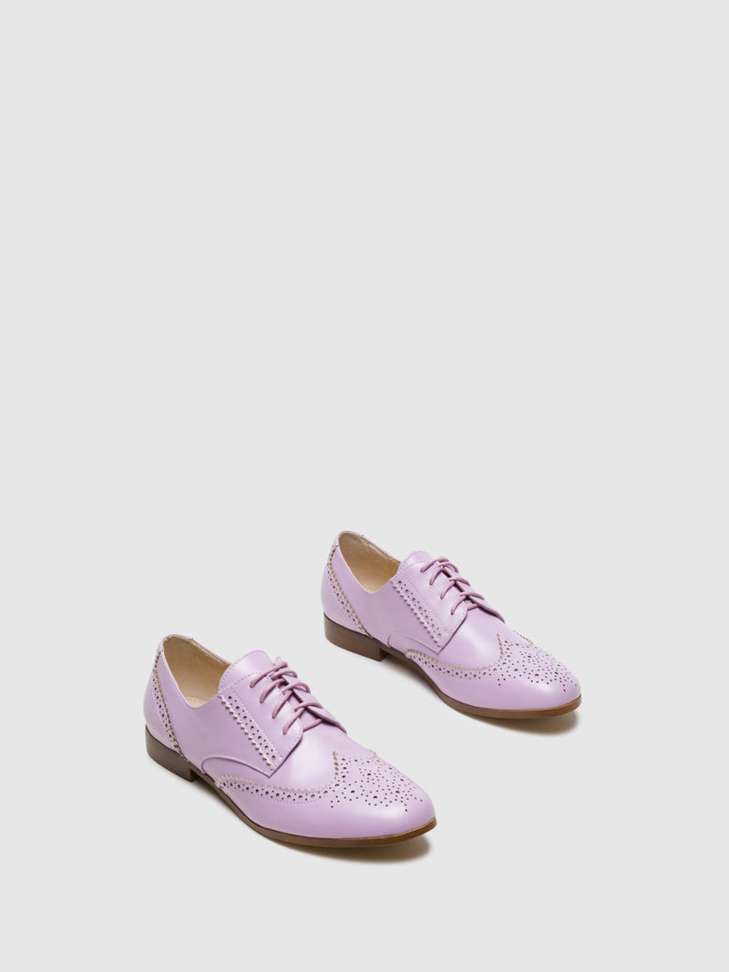 Purple Oxford Shoes