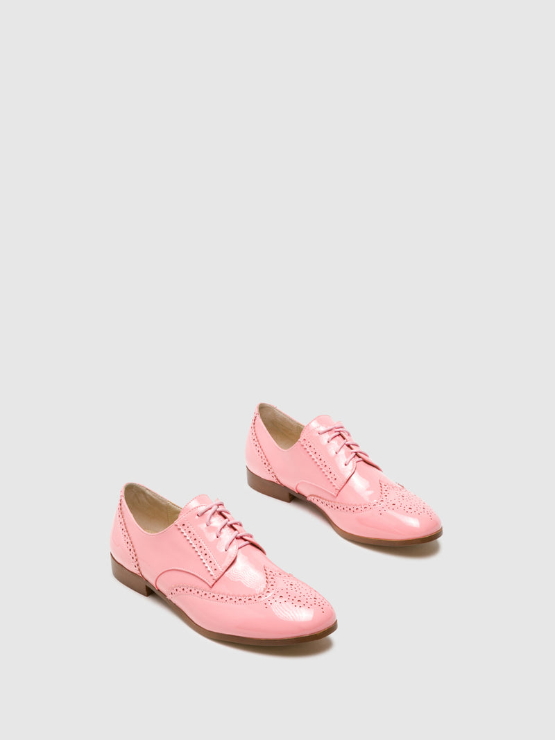 Coral Oxford Shoes