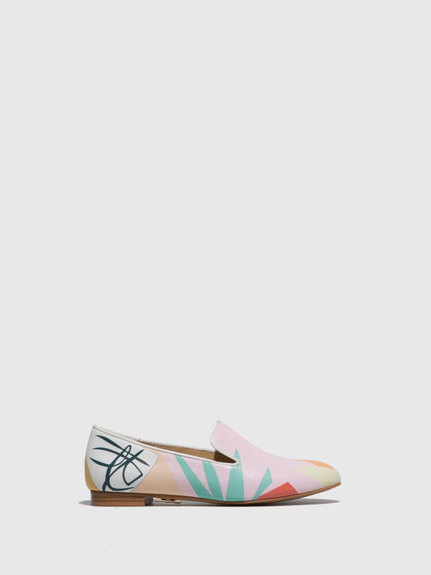 Yull Multicolor Mocassins Ballerinas
