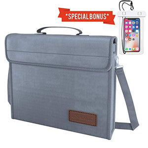 Unamic Fireproof Water-Resistant Messenger Bag