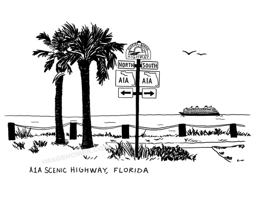 Florida A1A Scenic Highway