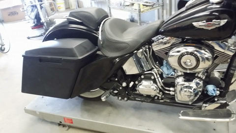 Complete Softail Tail Section