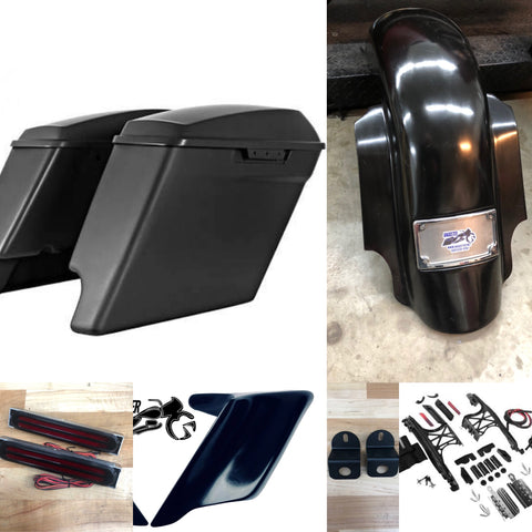 "'09-'13  4.5"" Upgrade Stretched Tail Kit"