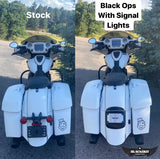 Black Ops LED Plate with Signal Lights