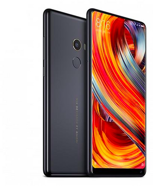 Xiaomi Mi Mix 2 5.99 Inch 4G LTE Smartphone 6GB 64GB 12.0MP Cam Snapdragon 835 Octa Core Android 7.1 NFC VoLTE Four-sided Curved Ceramic Body - Black