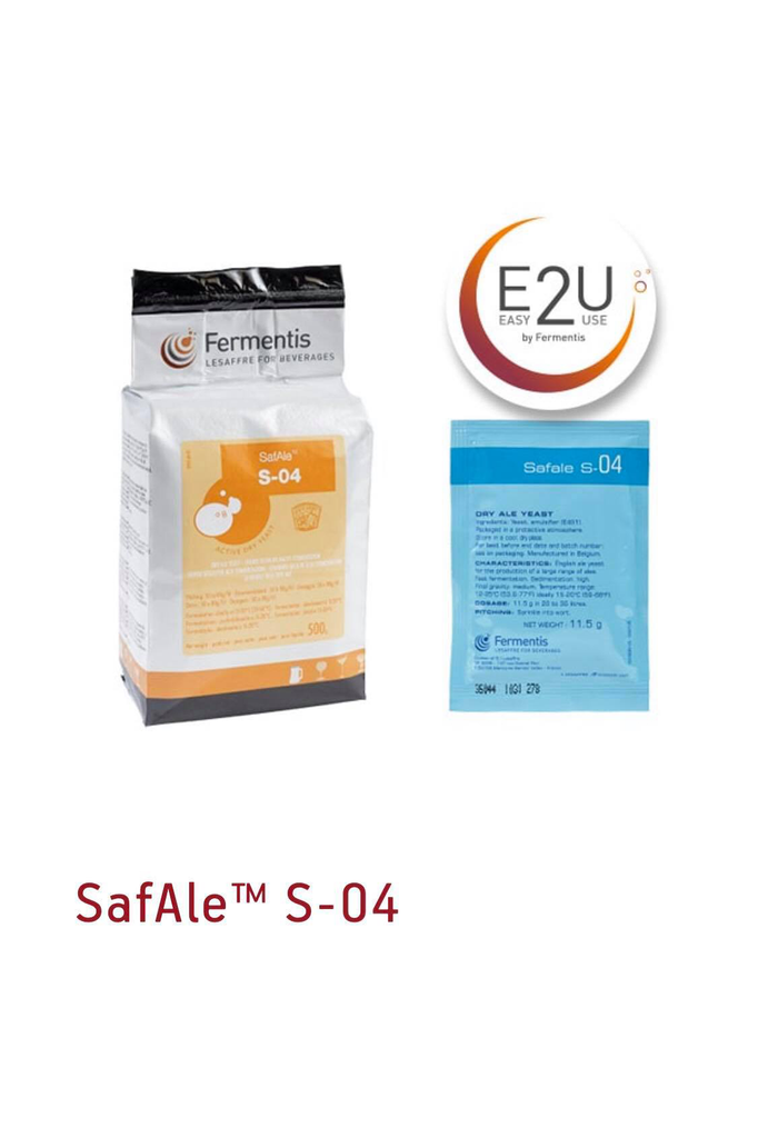 Fermentis SAFALE S-04 Brewers Yeast 11.5gm
