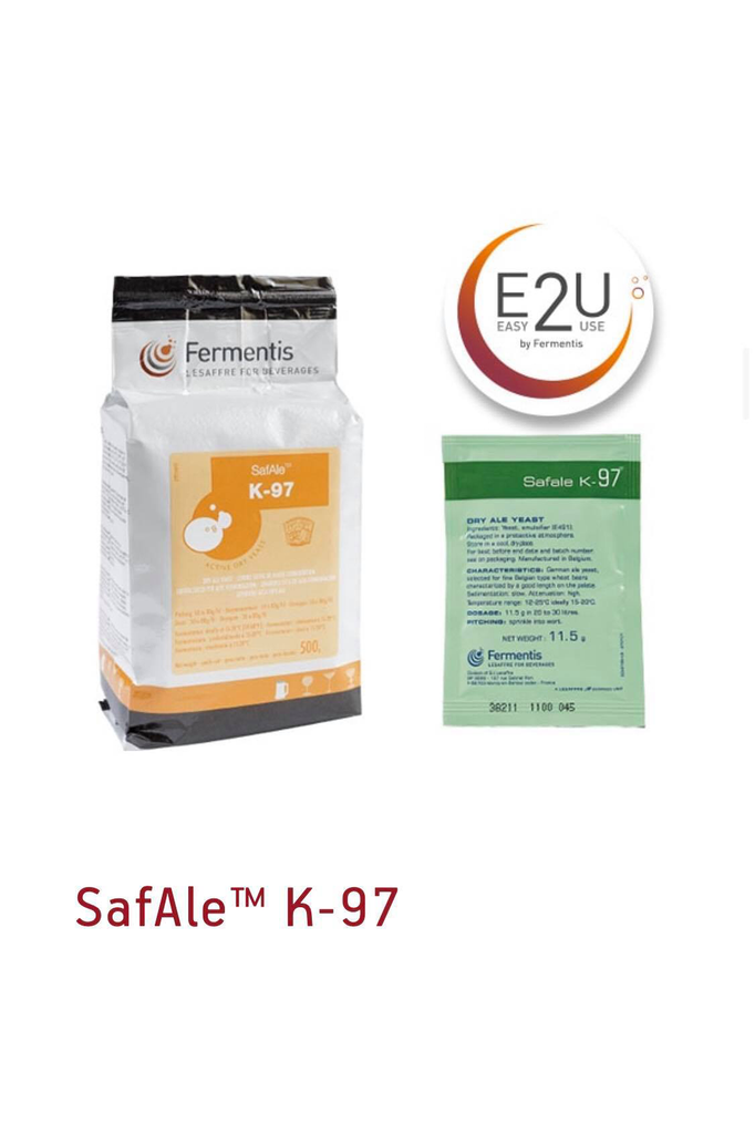 Fermentis SAFALE K-97 Brewers Yeast 11.5 gm