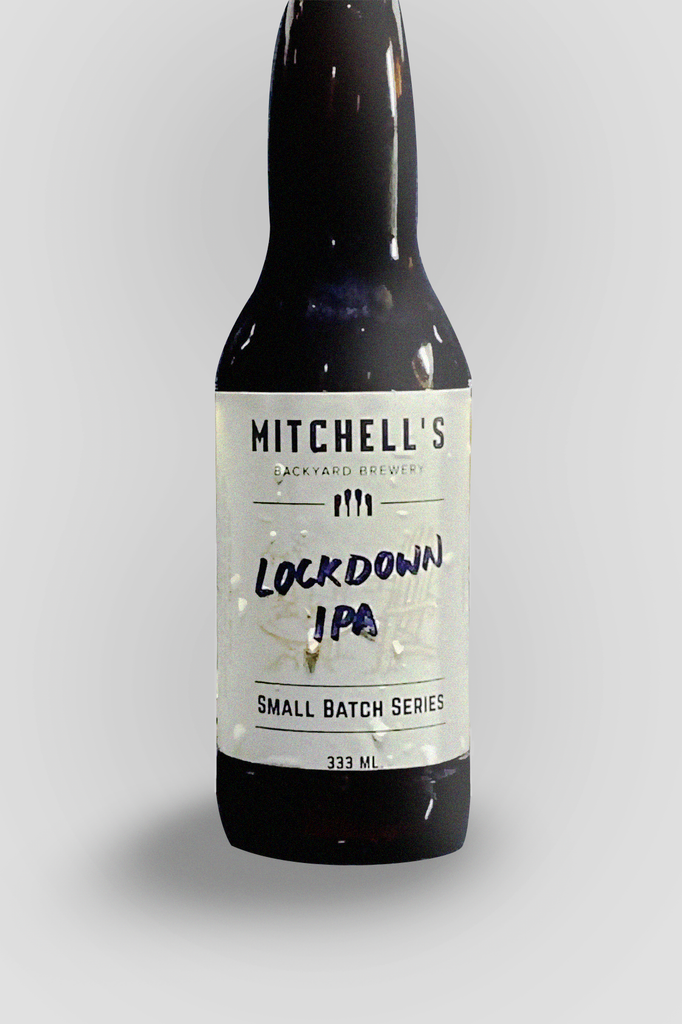 Mitchell's Backyard Brewery Lock Down IPA