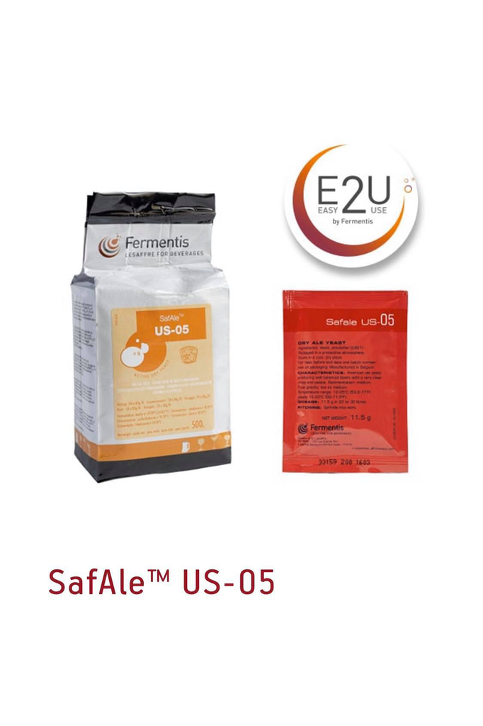 Fermentis SAFALE US-05 Brewers Yeast 11.5gm