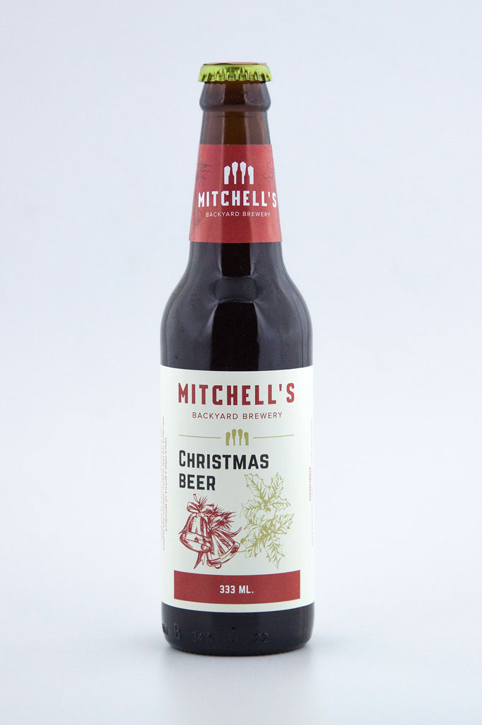 Mitchell's Backyard Brewery Christmas Beer