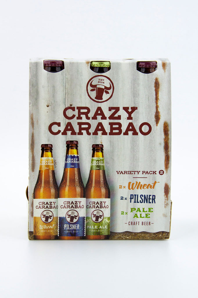 Crazy Carabao Brewing Variety Pack 2
