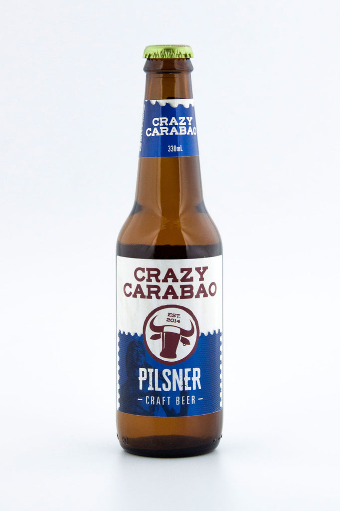 Crazy Carabao Brewing PILSNER 6-pack