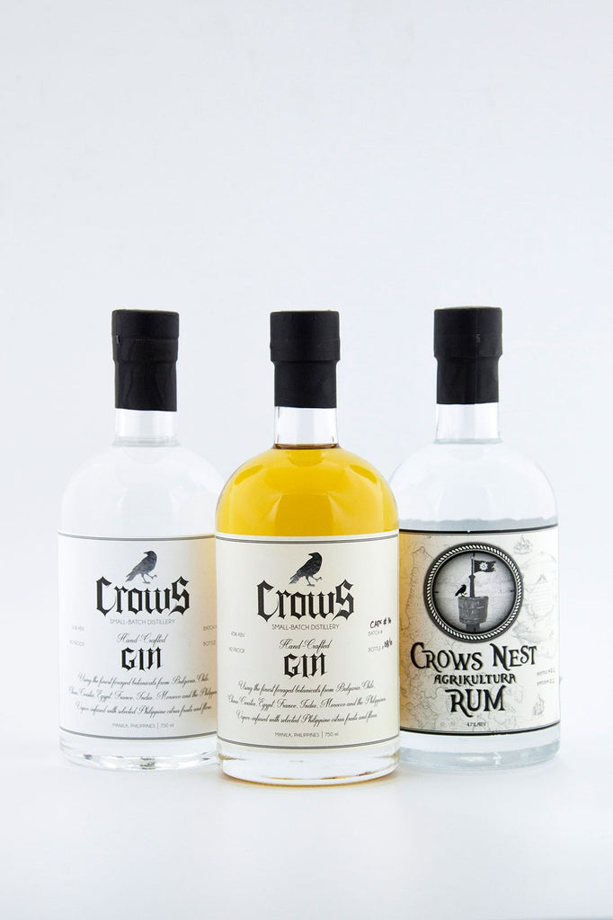 Crows Spirits 200ml Trio Pack