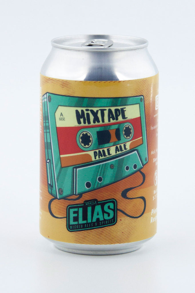 "Elias Wicked Ales & Spirits ""Mixed Tape"" Pale Ale"