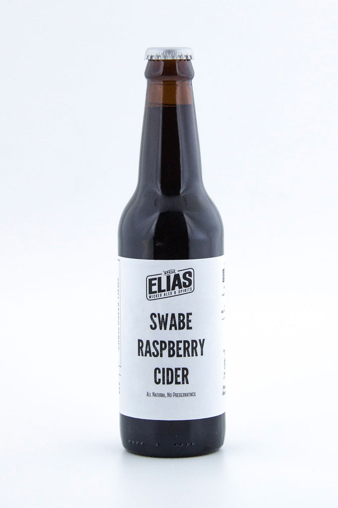 "Elias Wicked Ales & Spirits ""Swabe"" Raspberry Cider"