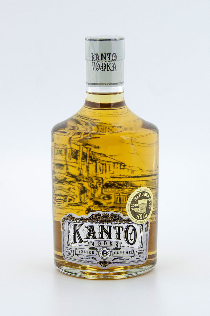 Kanto Salted Caramel Vodka 700ml