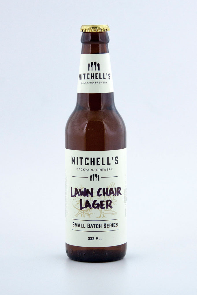 Mitchell's Backyard Brewery Lawn Chair Lager