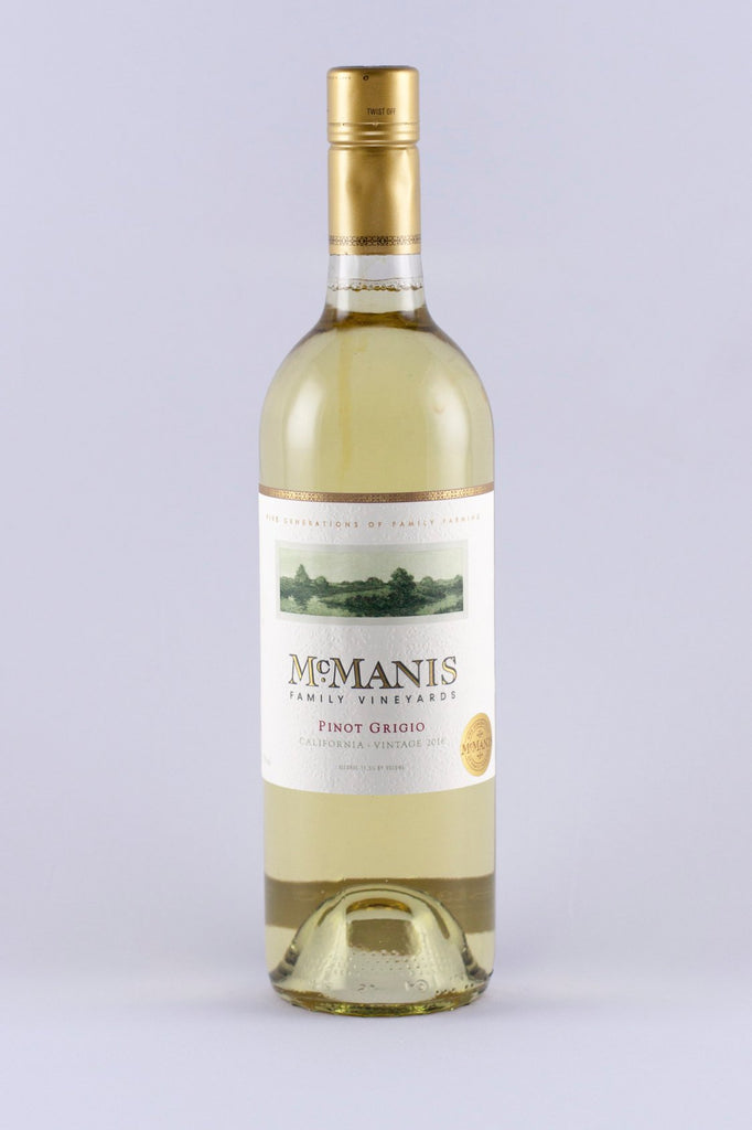 McMannis Vineyards 2016 Pinot Grigio