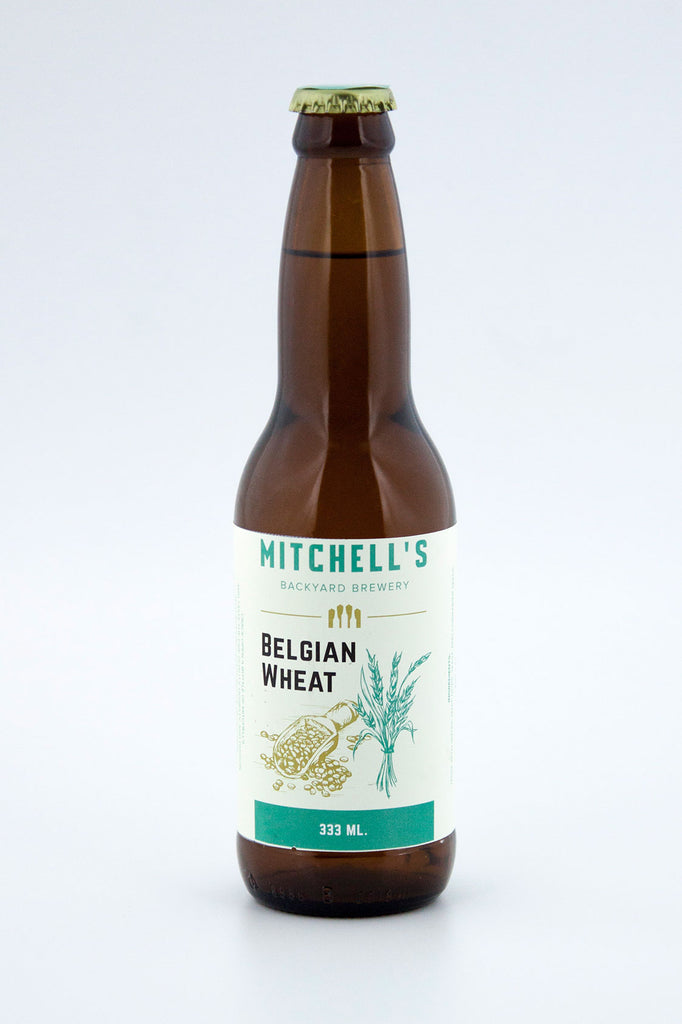 "Mitchell""s Backyard Brewery Belgian Wheat"