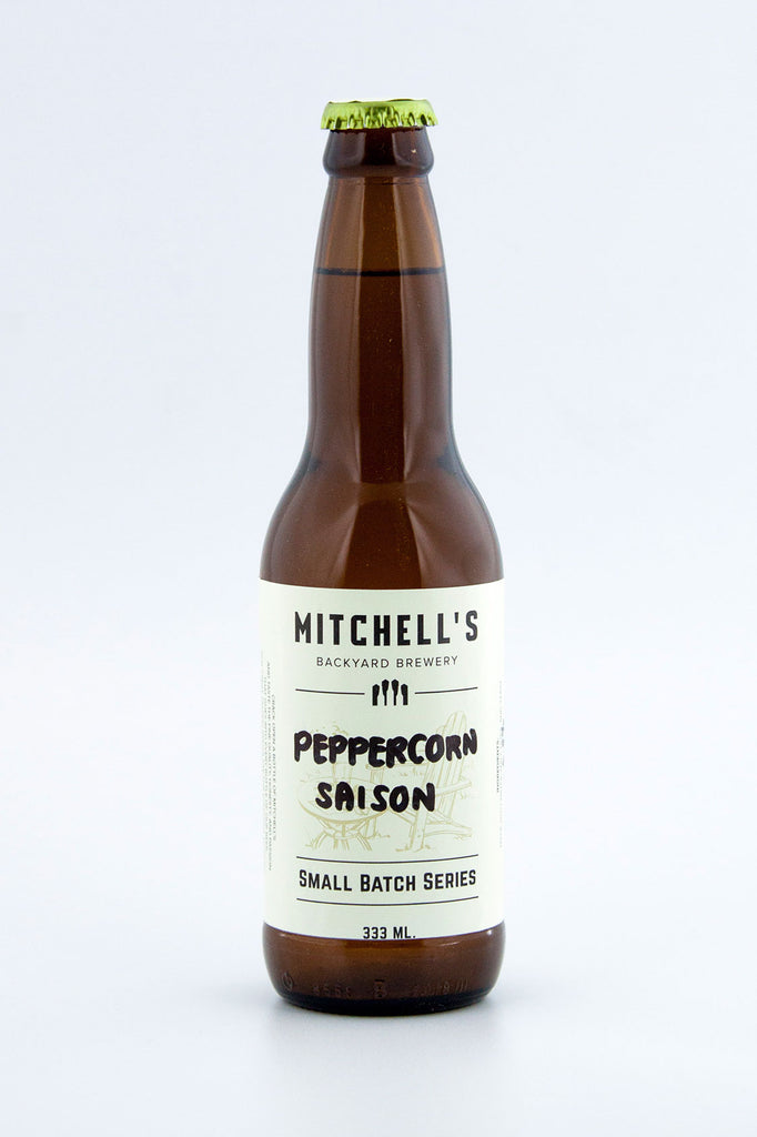 Mitchell's Backyard Brewery Peppercorn Saison