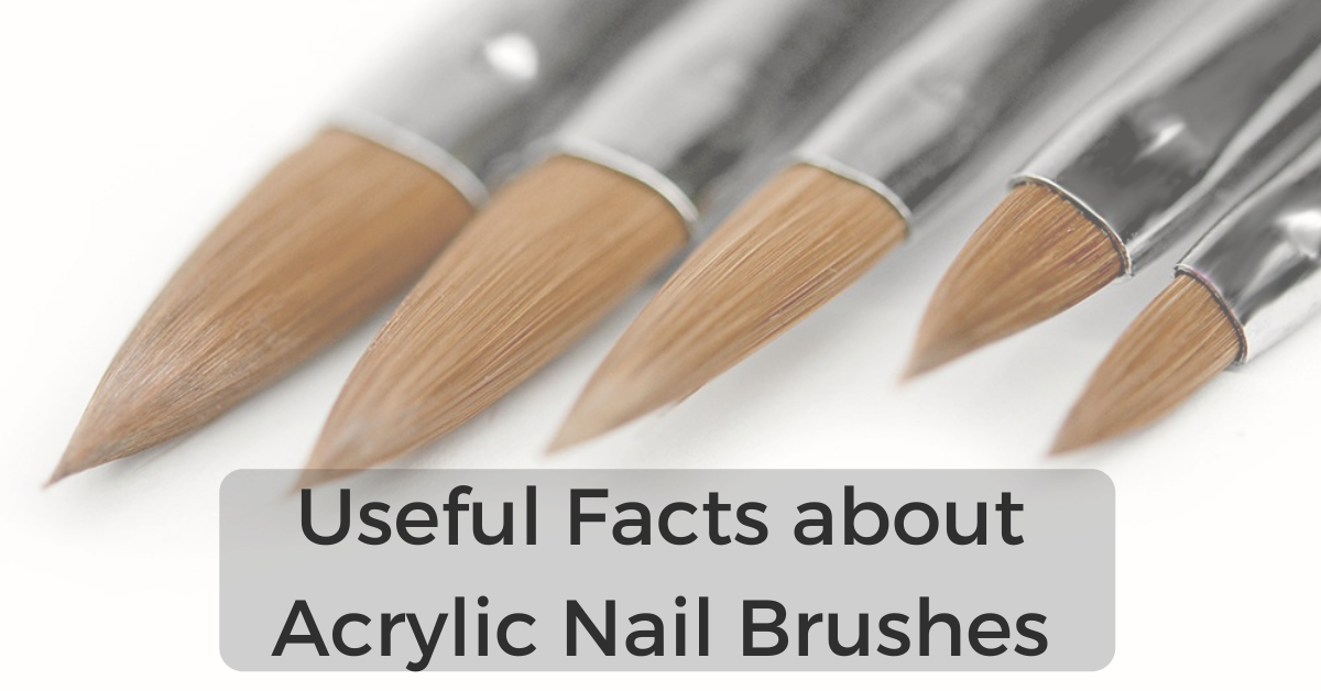 Useful facts about acrylic nail brushes