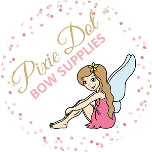 Pixie Dot Bow Supplies