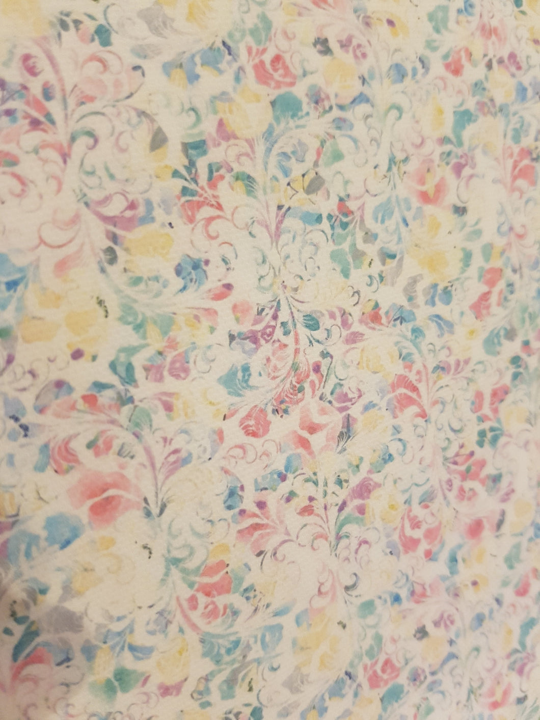 Pastel Patterned Fabric 035 Pixie Dot Bow Supplies