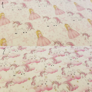 Pink Princess and Unicorn/Pink Unicorn Clouds (2 to choose from)