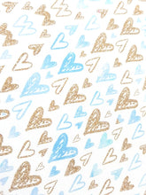 Hand Drawn Heart Fabrics
