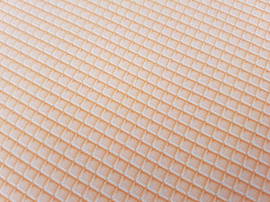 Wafer/cone printed fabric